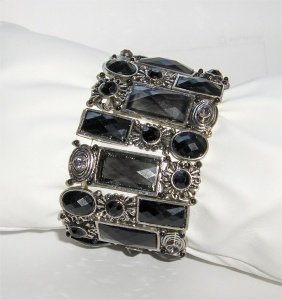 Accessoires & More Armband Black Night