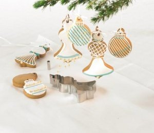 CHRISTBAUM-COOKIE Ausstecher-Set Kugel