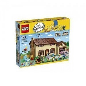 LEGO The Simpsons Family House