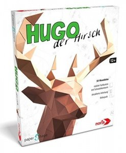 Papershape 3D Hirsch