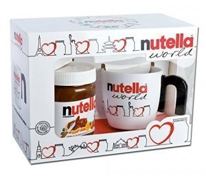 nutella world tasse becher geschenk set. Black Bedroom Furniture Sets. Home Design Ideas