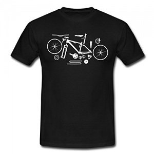 Spreadshirt Mountainbike Kit T-Shirt