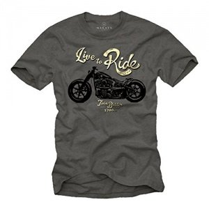 T-Shirt LIVE TO RIDE Evolution
