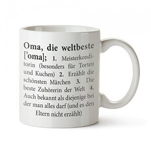 Tasse Definition die beste Oma