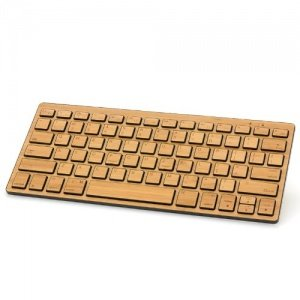 Wireless Keyboard + Maus Bamboo