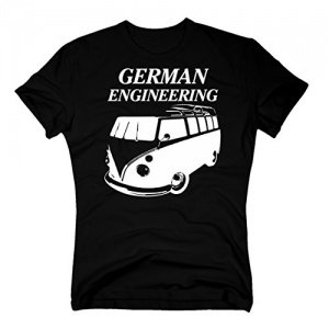 T-Shirt VW Bulli T1 German Engineering