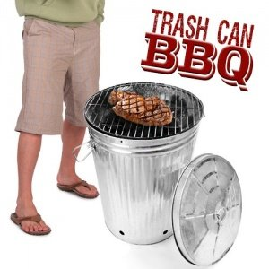 Trash Can BBQ - Eimer Grill