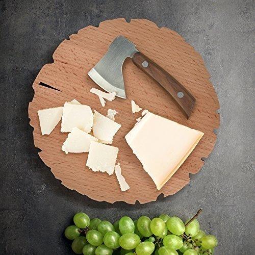 Fred & Friends Cheese Log Board and Knife Set