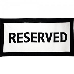 Badetuch Reserved