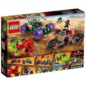 LEGO Marvel Super Heroes 76078 - Hulk gegen Red Hulk