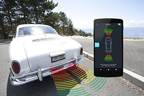 FenSens European Smart Wireless Parking Sensor - 100% Wireless, Easy-Install, Available for iOS and